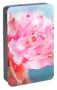 The Aura Of A Peach Blossom Portable Battery Charger