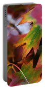 The Autumn Leaves Portable Battery Charger