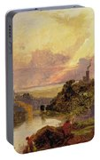 The Avon Gorge At Sunset  Portable Battery Charger