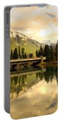 The Banff Bridge Reflected Portable Battery Charger