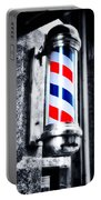 The Barber Pole Portable Battery Charger