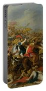 The Battle Between The Amazons And The Greeks Portable Battery Charger