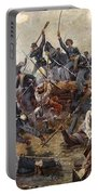 The Battle Of Spotsylvania Portable Battery Charger by Henry Alexander Ogden