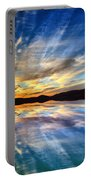 The Beauty Before The Darkness Portable Battery Charger