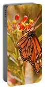 The Beauty Of A Butterfly Portable Battery Charger
