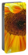 The Beauty Of A Sunflower Portable Battery Charger