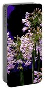 The Beauty Of Flowering Garlic Portable Battery Charger
