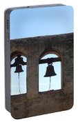 The Bells At The San Juan Capistrano Mission Portable Battery Charger