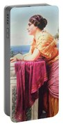 The Belvedere Portable Battery Charger by John William Godward