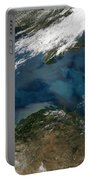 The Black Sea In Eastern Russia Portable Battery Charger by Stocktrek Images