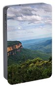 The Blue Mountains - Panoramic View Portable Battery Charger