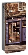 The Bow Bar. Edinburgh. Scotland Portable Battery Charger