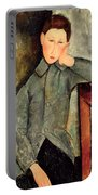 The Boy Portable Battery Charger by Amedeo Modigliani