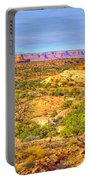 The Canyon In The Distance Portable Battery Charger
