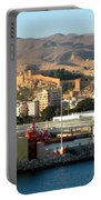 The Castle In Almeria Spain Portable Battery Charger