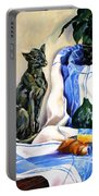 The Cat And The Cloth Portable Battery Charger