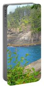 The Caves Of Cape Flattery  Portable Battery Charger