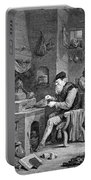 The Chemist, 17th Century Portable Battery Charger by Science Source