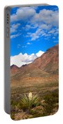 The Chisos Mountains Big Bend Texas Portable Battery Charger