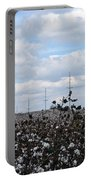 The Cotton Crops Of Limestone County Alabama Portable Battery Charger