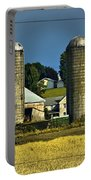 The Cows Have Come Home Portable Battery Charger by DigiArt Diaries by Vicky B Fuller