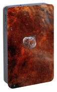 The Crescent Nebula With Soap-bubble Portable Battery Charger