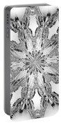 The Crystal Snow Flake Portable Battery Charger