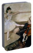 The Dance Lesson Portable Battery Charger