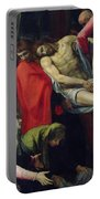 The Descent From The Cross Portable Battery Charger