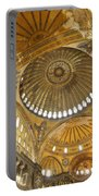 The Dome Of Hagia Sophia Portable Battery Charger