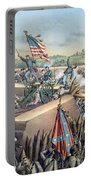The Fall Of Petersburg To The Union Army 2nd April 1965 Portable Battery Charger