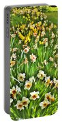 The Flower Bed Portable Battery Charger