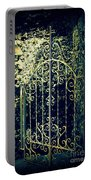 The Gate In The Grotto Of The Redemption Iowa Portable Battery Charger