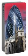 The Gherkin London Portable Battery Charger by Jasna Buncic