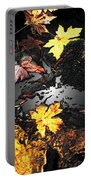 The Golden Leaves Portable Battery Charger