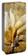 The Golden Magnolia Portable Battery Charger