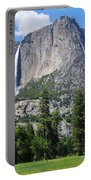 The Grandeur Of Yosemite Falls Portable Battery Charger