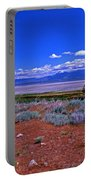 The Great Salt Lake From Antelope Island Portable Battery Charger