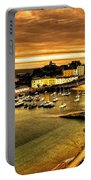 The Harbour At Tenby  Portable Battery Charger