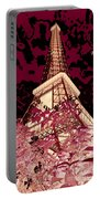 The Heart Of Paris - Digital Painting Portable Battery Charger