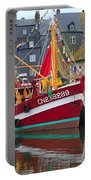 The Historic Fishing Village Of Honfleur Portable Battery Charger
