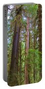 The Hoh Rain Forest Portable Battery Charger