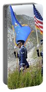 The Honor Guard Posts The Colors Portable Battery Charger