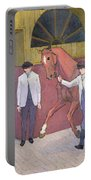 The Horse Mart  Portable Battery Charger by Robert Polhill Bevan