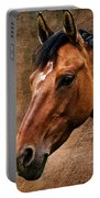 The Horse Portrait Portable Battery Charger