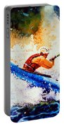 The Kayak Racer 17 Portable Battery Charger by Hanne Lore Koehler