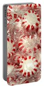 The Land Of Peppermint Candy Square Portable Battery Charger