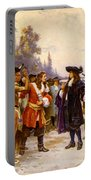 The Landing Of William Penn, 1682 Portable Battery Charger