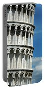The Leaning Tower Of Pisa Italy Portable Battery Charger