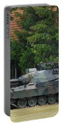 The Leopard 1a5 Main Battle Tank In Use Portable Battery Charger by Luc De Jaeger